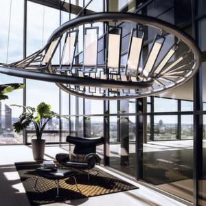 Designerleuchte aus transparenten OLEDs: Ab 2014 will Osram die Industriealisierungsreifer erreichen