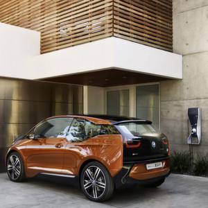 Der Verbrauch eines Elektroautos wie dieses BMW i3 Concept hängt stark vom Fahrstil ab