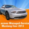 Acmeo-Chef ist auf Reseller-Tour mit einem Ford Mustang