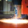 Laserschneidanlage mit angebundenem Lagersystem ermöglicht mannlosen Betrieb