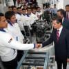 Volkswagen eröffnet 100. Werk