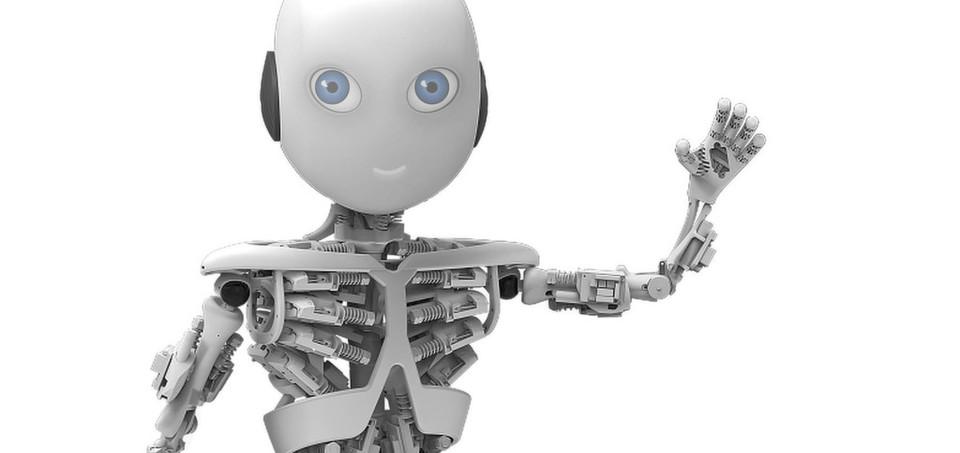 Humanoider Roboter auch dank Baumer Sensoren: So oder ähnlich dürfte Roboy aussehen.