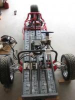 Ein Batteriekasten auf Rädern: das Elektro-Trike ZW2C von Gary Krysztopik mit 24 zyklenfesten Bleisäure-Batterien