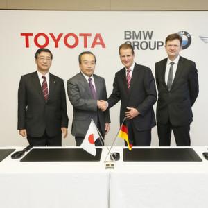 BMW und Toyota vereinbaren enge Zusammenarbeit
