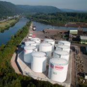 Soll künftig den Erfolg von Lqui Moly und Meguin stützen: das neue Tanklager in Dillingen an der Saar.