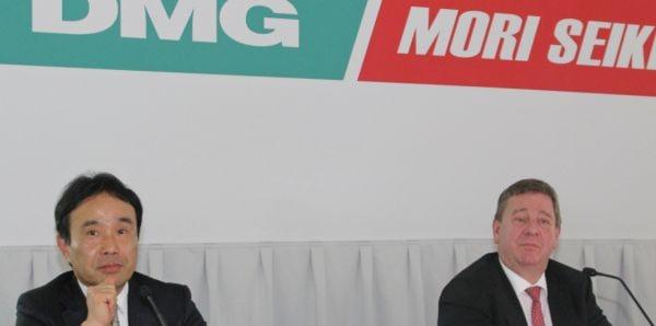Stellten die weltweiten Pläne von DMG/Mori Seiki für 2013 vor: Dr. Masahiko Mori (links) und Dr. Rüdiger Kapitza.