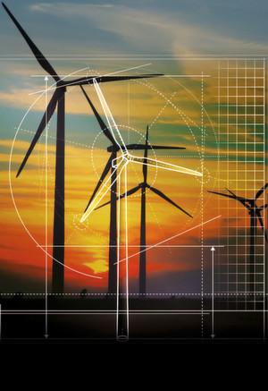 Windkraftanlagen: Spezielle DC-Link-Kondensatoren helfen in der Leistungselektronik, Spannungsschwankungen zu beseitigen, die typischerweise am Rohausgang des PV-Panels oder der Windturbine auftreten
