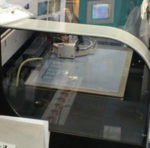 Gedruckte Schaltkreise - hier auf der LOPE-C 2012 - sind nichts Ungewöhnliches mehr. An der University of Maryland in College Park haben Wissenschaftler jedoch es jedoch geschafft, transparente Transistoren auf transparentes Papier zu drucken.