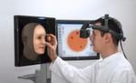 Netzhautuntersuchung an einem virtuellen Patienten mit Eyesi Indirect Ophthalmoscope Simulator