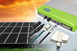 Solar-Wechselrichter: Die Zuverlässigkeit aller Schnittstellen am Wechselrichter ist ein entscheidender Faktor für die Wirtschaftlichkeit einer Solaranlage