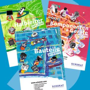 Schukat-Kataloge 2013: 20.000 Produkte auf über 2000 Seiten