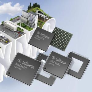 XMC4500-Mikrocontroller von Infineon: Cortex-M4-basiert mit FPU und DSP-Zusatz als CPU-Kern; DS-Demodulator inklusive