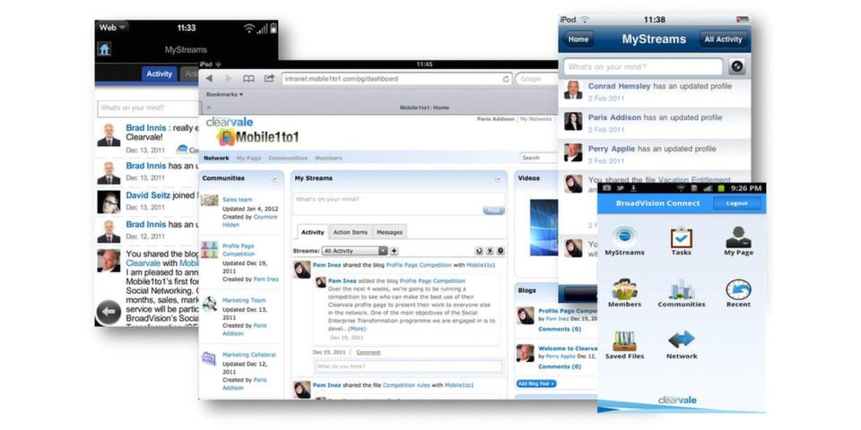 Mit Clearvale bietet Broadvision eine Social-Network-Lösung für Unternehmen an. Einer der ersten Kunden in Deutschland, die auf Clearvale setzen, ist Business Networks Europe.