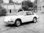 Der 911 T8 im Werkshof 1964, Prototyp 901-1