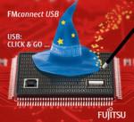 FUJITSU USB-Wizard: USB-Code in nur 30 Minuten generieren, zu sehen am GLYN-Stand