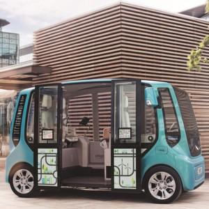 """""""Micromax"""" ist eine völlig neue Fahrzeugklasse mit neuartigem Stehsitzkonzept für die Kurzstrecke."""