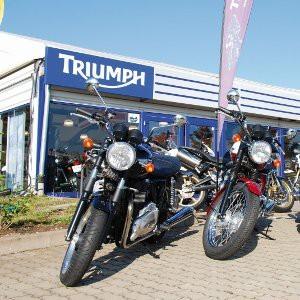 Triumph-Triumpf in Erfurt