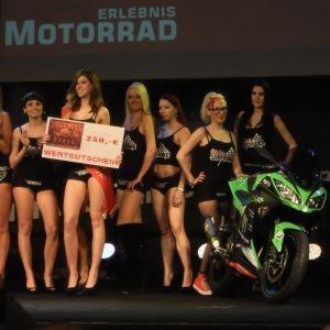 Erlebnis Motorrad Mannheim 2013: Heiße Bikes & Girls