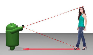 Apps für die Messtechnik: Wir haben 10 Apps gefunden, die für messtechnische Einsätze dienen. Das Bild zeigt eine Lösung zum Messen der Entfernung und Höhe mit dem Smart Measure dank Trigonometrie.