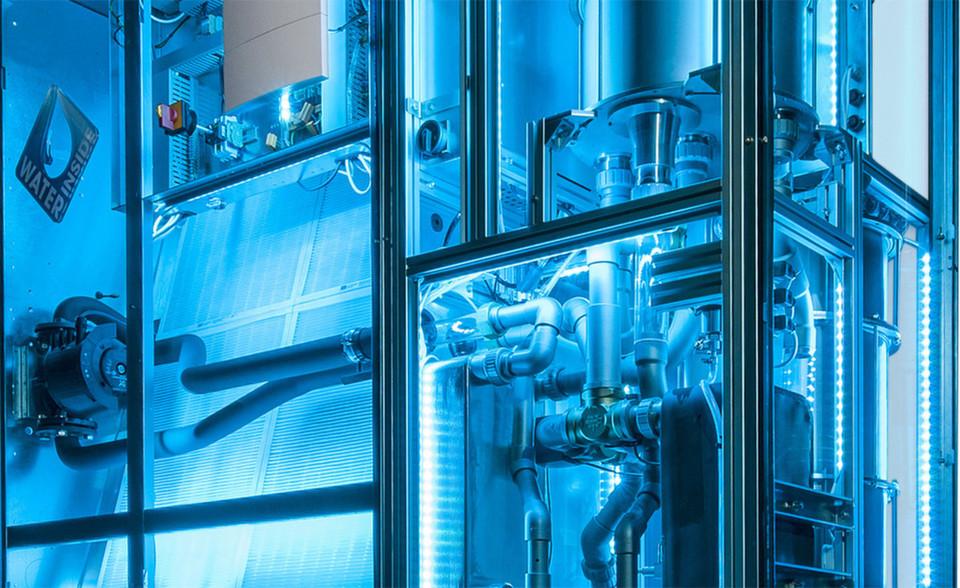 stulz cyber blue k hlt rechenzentren mit wasser ohne chemie. Black Bedroom Furniture Sets. Home Design Ideas