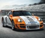 Beim Porsche 911 GT3 R liefert ein elektrischer Schwungradspeicher die Energie für die Elektromotoren