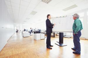 Blick in die Konstruktionsabteilung: Es geht um einfache und effektive Trägersysteme für den heutigen Klinikalltag.