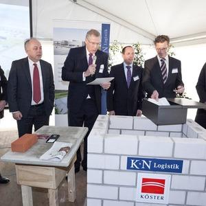 Kn logistik und k ster realisieren medienlogistik zentrum for Koch neff volckmar gmbh