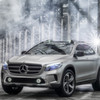 Mercedes GLA Concept  Die A-ntwort frs Gelnde