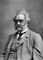 Hatte ein Faible für Elektromobilität: Werner Siemens. Schon 1848 schrieb er in einem Brief: 'Wenn ich mal Muße und Geld habe, will ich mir eine elektromagnetische Droschke bauen, die mich gewiss nicht im Dreck sitzen lässt...'