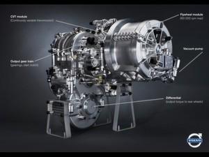 Schwungrad KERS: Die Bremsenergie beschleunigt das Schwungrad auf bis zu 60.000 Umdrehungen pro Minute