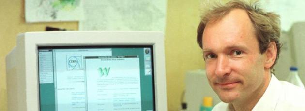Tim Berners-Lee suchte nach einem Weg, vernetztes Wissen darzustelllen – und schuf dabei das World Wide Web.