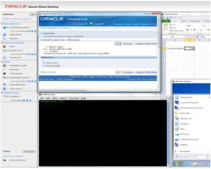 Screenshot: Oracle Secure Global Desktop dient dem Zugang zu hosted Workspaces per Browser, also zu verschiedenen Aapplikationen und Desktop-Umgebungen, in der Cloud.