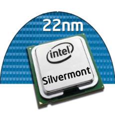 Silvermont-Architektur von Intel: 22-nm-SoC-Fertigungsprozess mit Tri-Gate-Transistoren für mehr Energieeffizienz und Rechenleistung