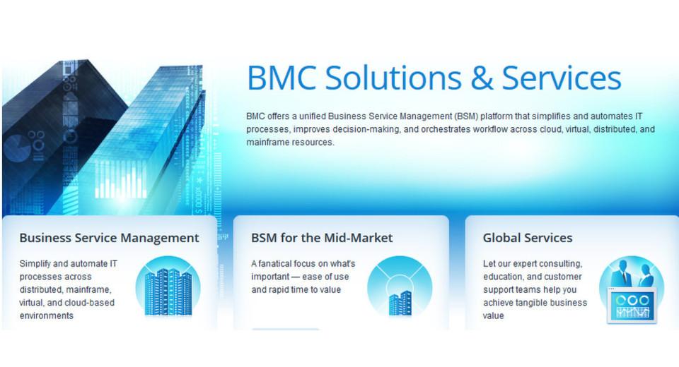 Das Produkt- und Services-Angebot von BMC reicht vom IT-Monitoring über die Konfiguration und Integration bis zur Orchestrierung.