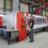 Neue, autonom arbeitende Laserschneidanlage