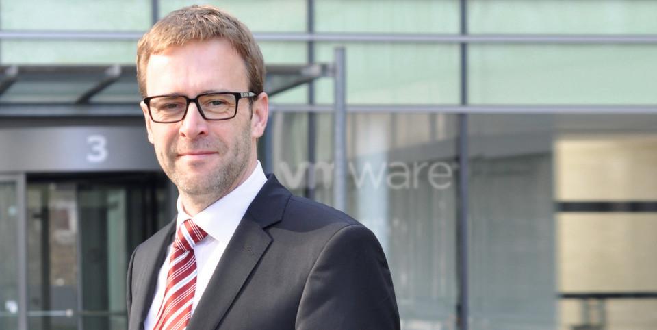 Jörge Hesske, Deutschlandchef von VMware, rät zum Dialog zwischen IT und Fachabteilungen.