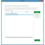 Migrationshilfe: Bei der Installation bietet Boxcryptor an, Dateien der Vorgängerversion zu importieren.