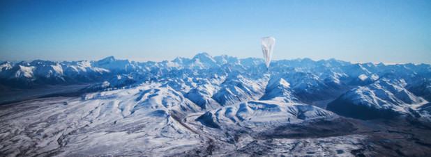 Testlauf des Project Loon in Neuseeland