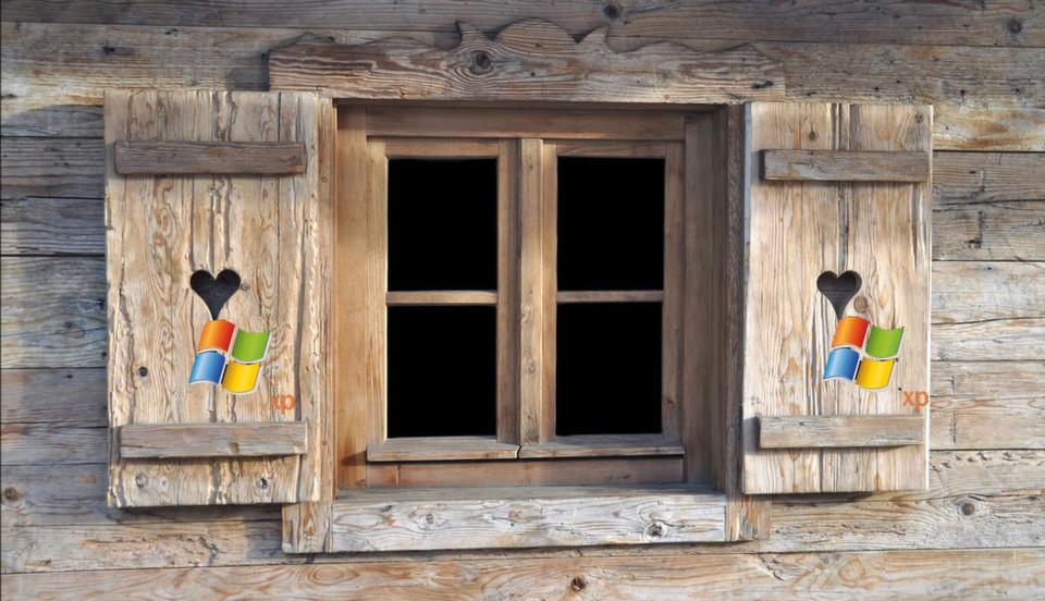 Bald gehen die Fensterläden für Windows XP zu.