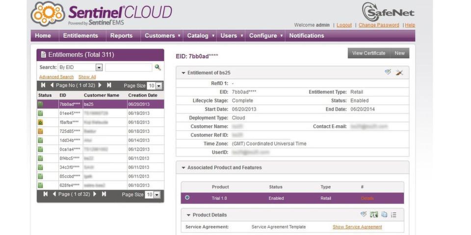 Die Lizenzierungs- und Management-Lösung Sentinel Cloud kann ab sofort für Cloud-basierte und On-Premise-Applikationen eingesetzt werden.