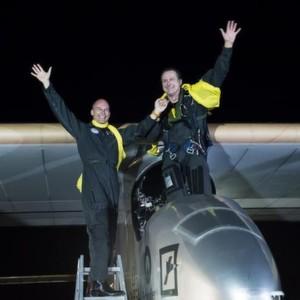 Solarflugzeug beendet USA-Überflug trotz Riss in Tragfläche
