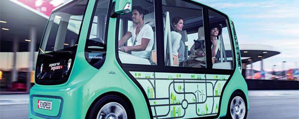 Neue Ideen für den Stadtverkehr: Auch der Micromax von Rinspeed ist mit einem Elektroantrieb von Linde MH ausgerüstet.
