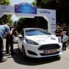 E-Wheel-Drive bei Elektrofahrzeug-Rallye