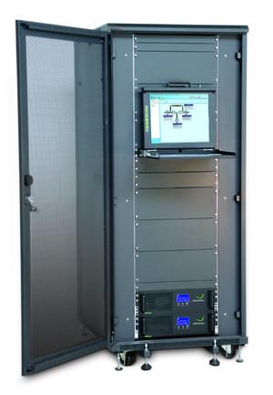 Ein all-in-one-Server-Schrank von Grafenthal
