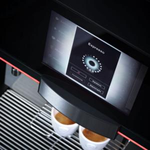 Die Benutzerführung des Melitta-Kaffeeautomaten bar-cube touch wurde vom Kieler Interaktionsspezialisten macio gestaltet.