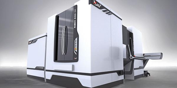 Das neue Design einer MAG-Werkzeugmaschine mit optionalem Design-Body-Kit und Bedienpult-Konzept wird auf der EMO 2013 präsentiert.