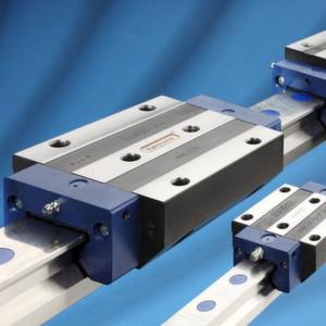Kammerer liefert Rollenführungen der Marke Monoguide jetzt auch mit Schienengrößen von 65 mm.