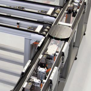 Das Transportsystem LT40, auf das der Hersteller 3 Jahre Garantie gewährt,eignet sich für unterschiedliche Anwendungen.