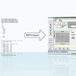 Software f r nc s gen unterst tzt dstv schnittstellen standard for Maschinenbau ohne nc