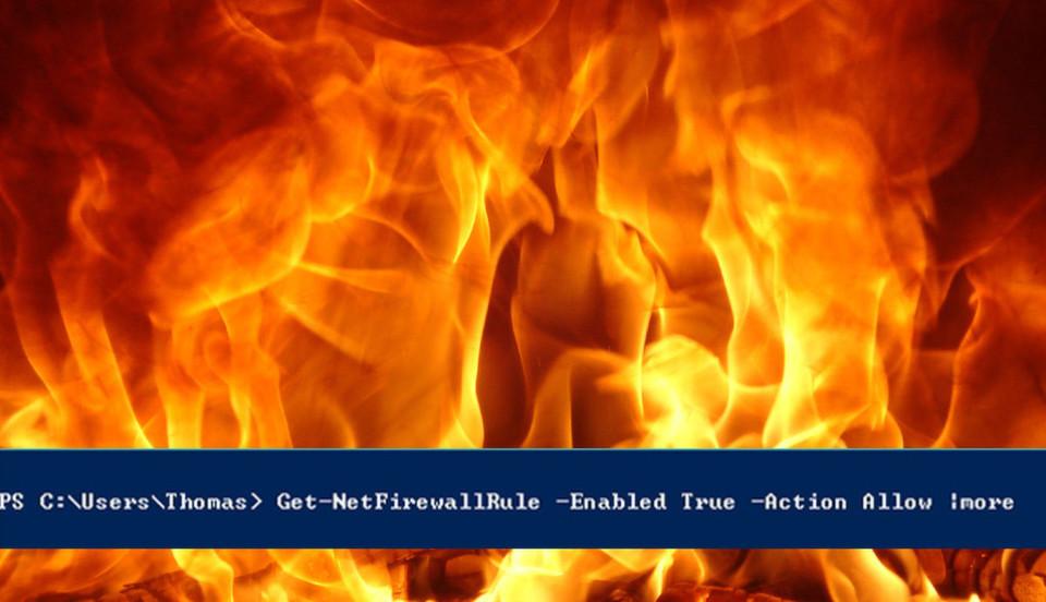 Thomas Joos zeigt, wie sich mit Powershell-Befehlen Firewalls errichten lassen.
